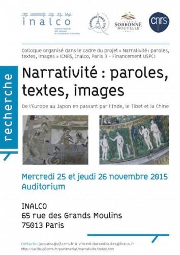 affiche-narrativite-769-paroles-textes-images-25-et-26-nov-15-3-